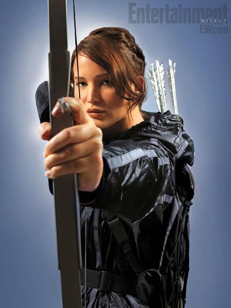 Katniss Everdeen Full Body Poster Verdict: katniss is scary in