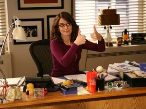 tina Fey thumbs up