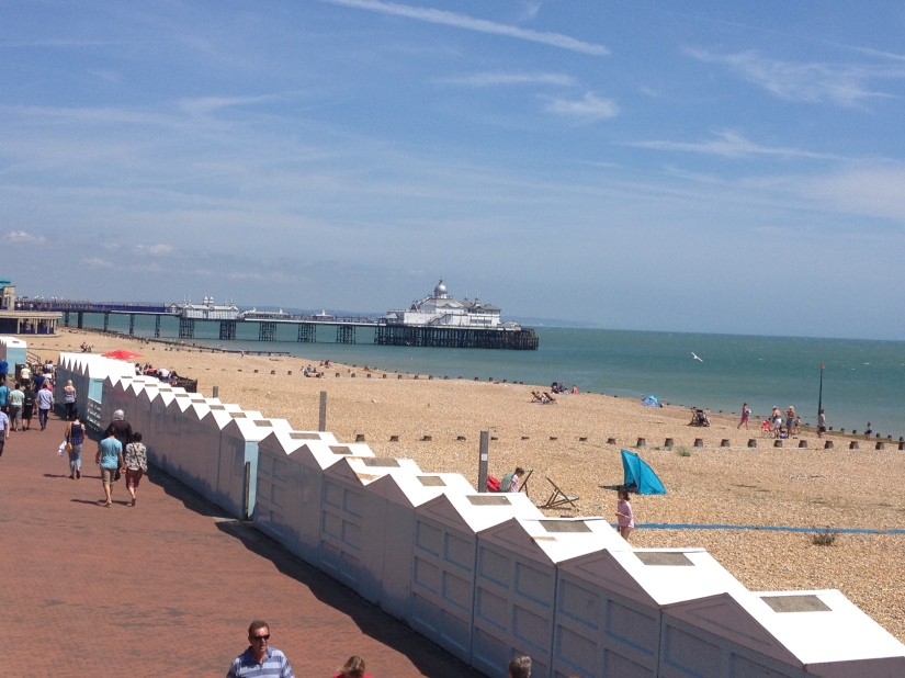 My mum and I arrived in Eastbourne to gorgeous sunshine this weekend