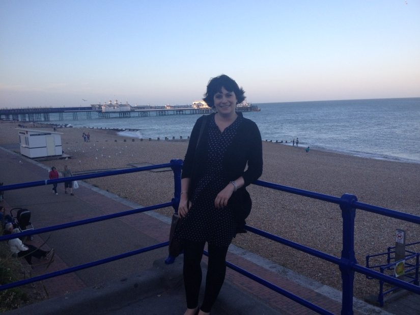 Windswept on the seafront this time